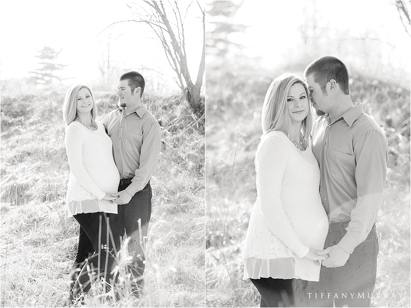 rustic sunset maternity session tiffany murray photography_0001