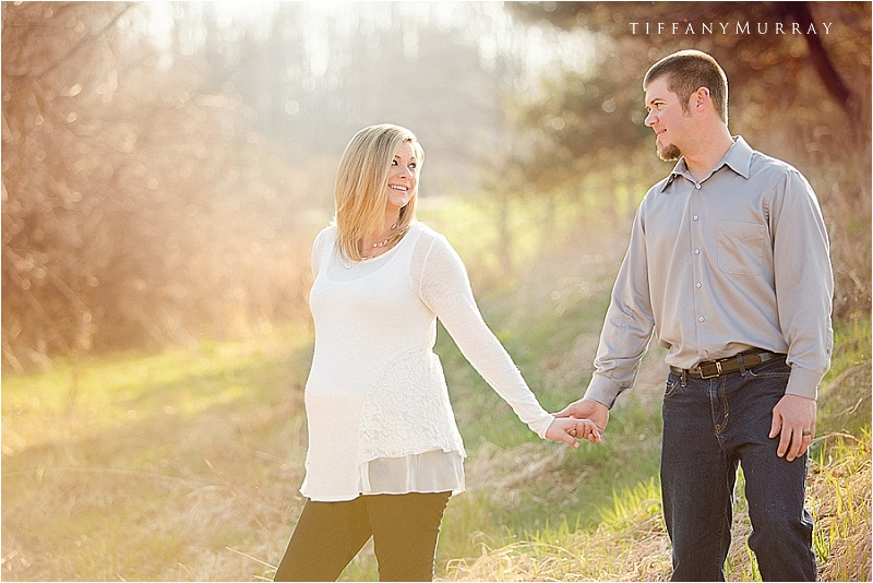 rustic sunset maternity session tiffany murray photography_0004