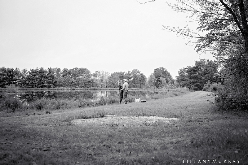 Josh melissa surprise proposal ashland ohio photographer tiffany murray photography ohio wedding portrait photographer