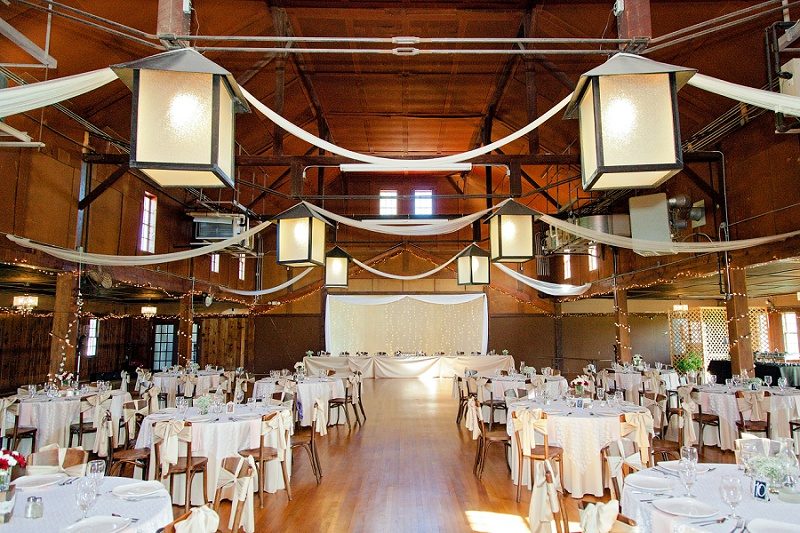columbia station ballroom rustic wedding venue
