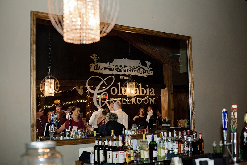 the columbia ballroom wedding