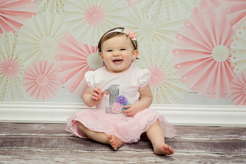 one year old girl first birthday