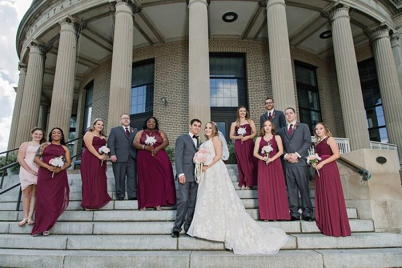 downtown sandusky ohio wedding