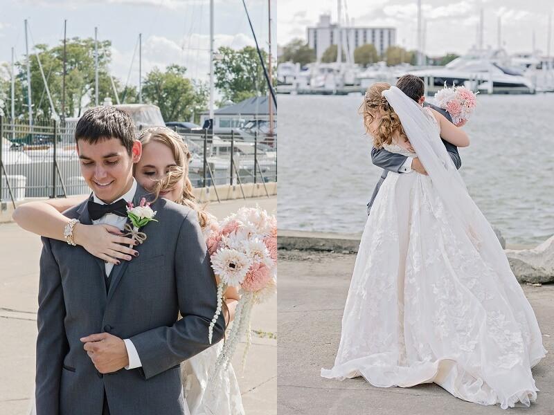 downtown sandusky wedding