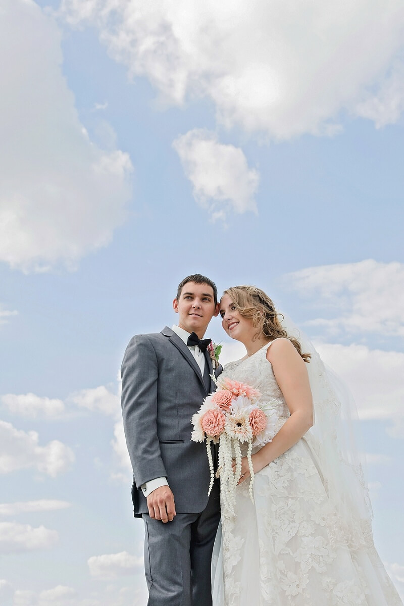 first look bride and groom lakeside sandusky