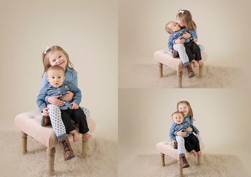 family portraits in studio mansfield ohio family photographer tiffany murray