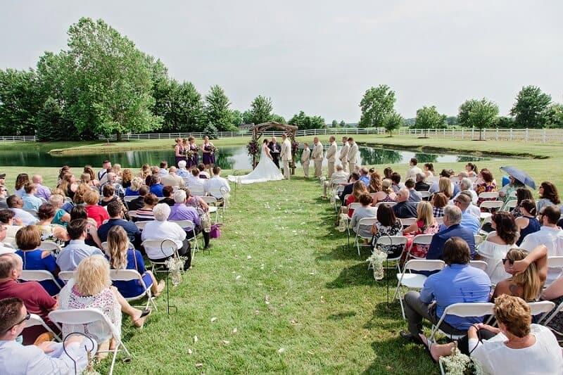 summer wedding at nolan barn kilkerrin