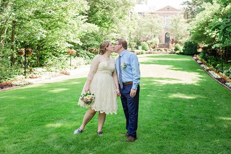 kingwood center garden wedding mansfield ohio