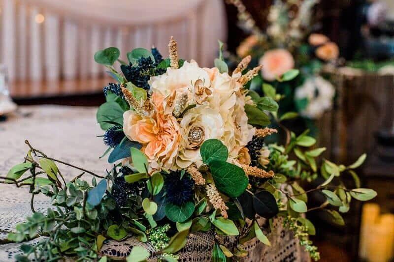 rustic summer wedding at meadowbrook ballroom wedding tiffany murray photography