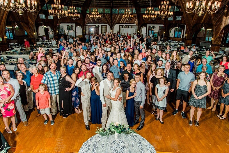 summer wedding at meadowbrook ballroom bascom ohio photographer tiffany murray