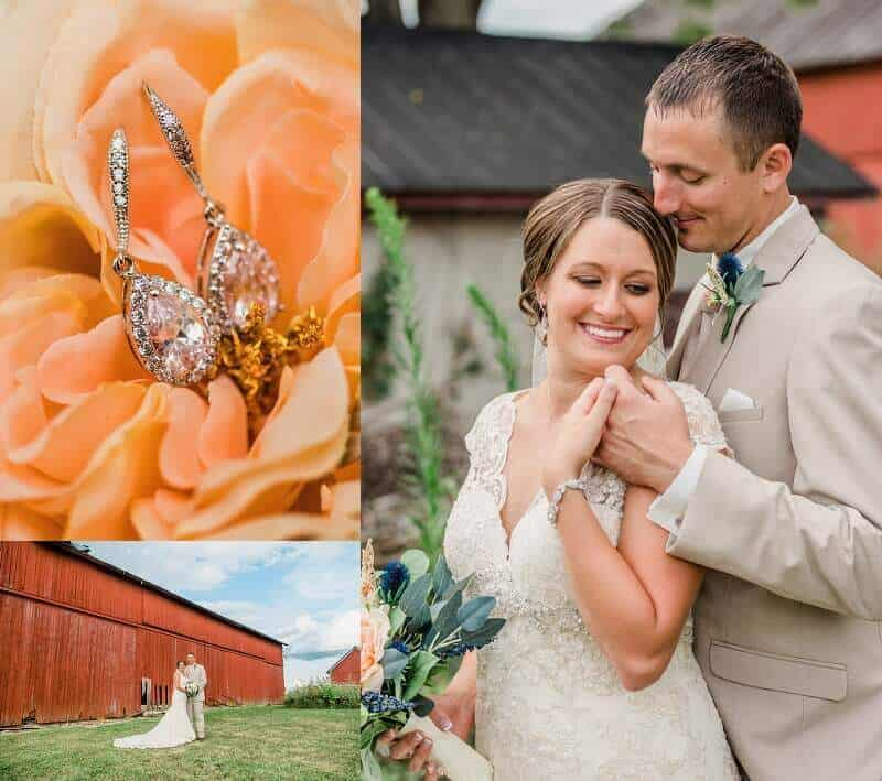 rustic wedding willard ohio photographer tiffany murray
