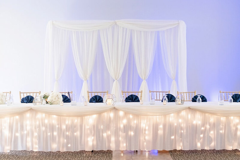 navy and gold wedding camden falls