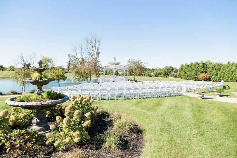 camden falls outdoor wedding tiffin ohio