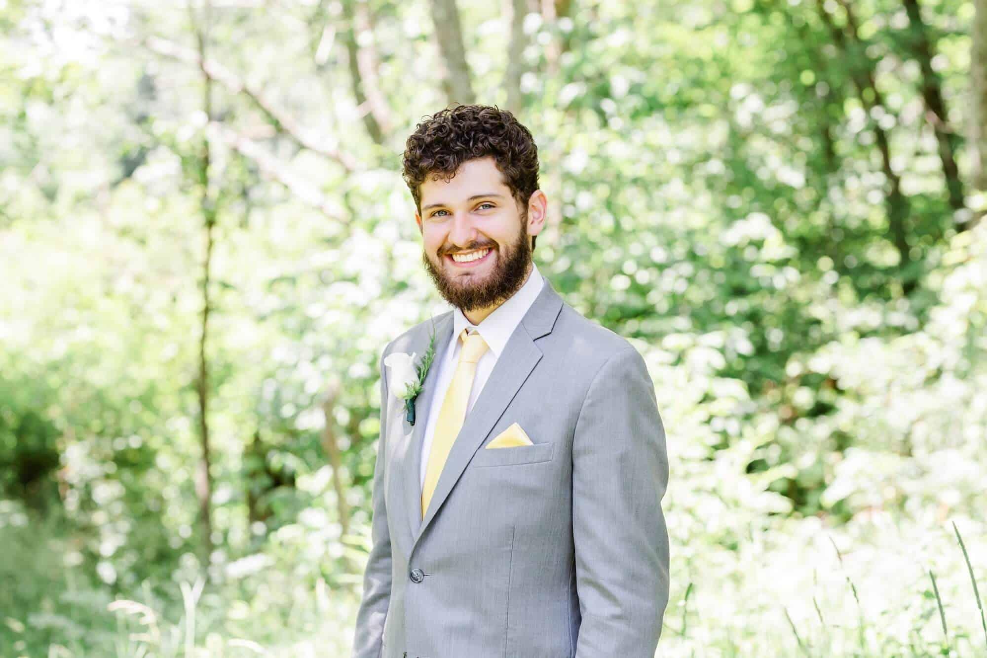 wedding portraits gorman nature center mansfield ohio photographer tiffany murray