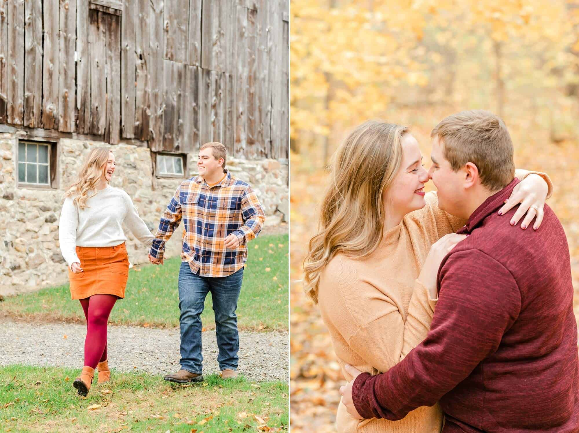 farm engagement photo norwalk ohio