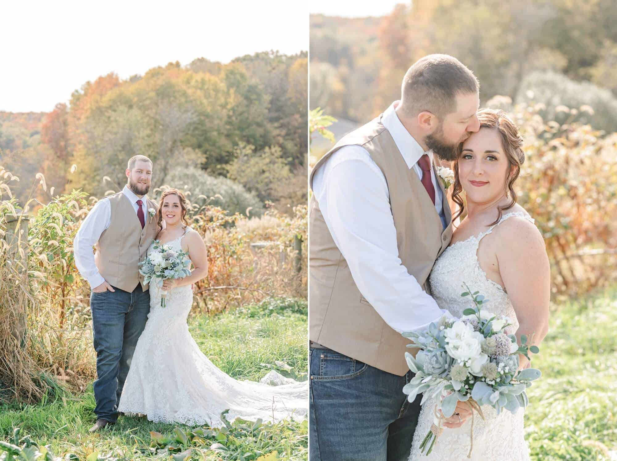 mohican forest white pine grove wedding