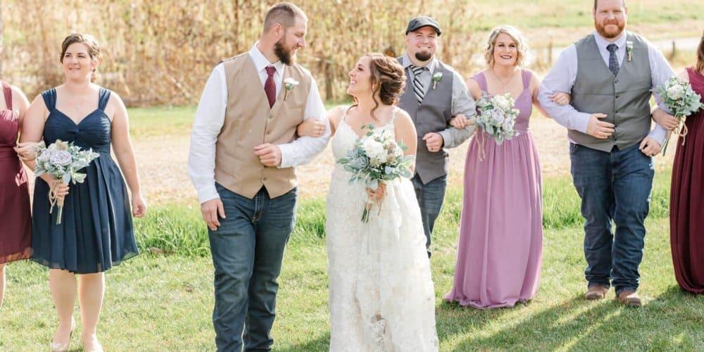 Zach & Jenny   White Pine Grove Wedding