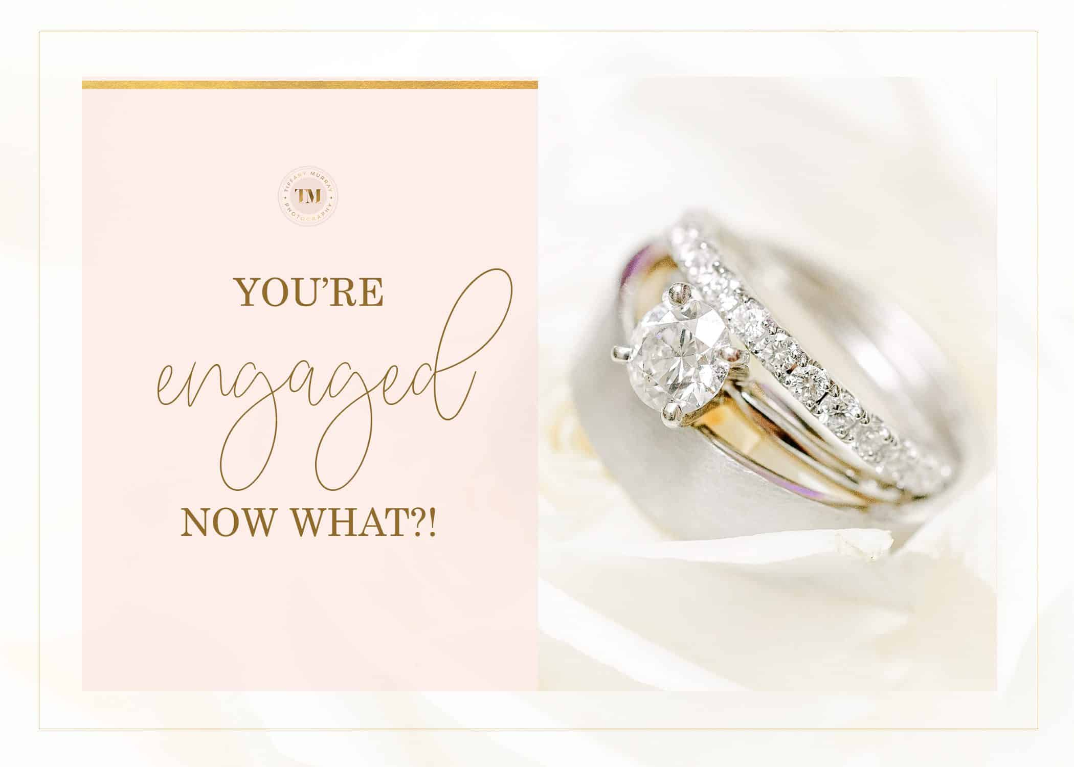 you're engaged now what advice for brides