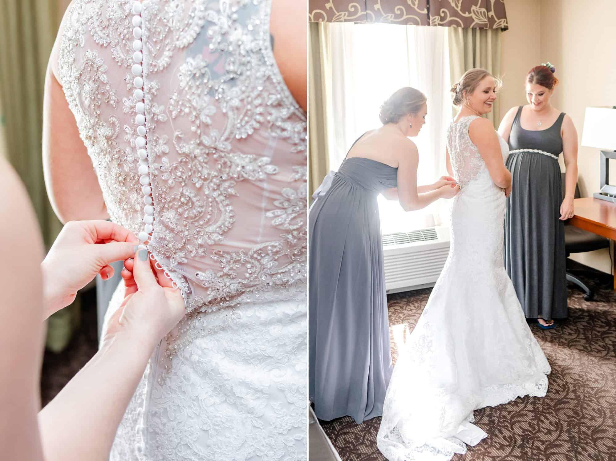 downtown mansfield ohio wedding holiday inn