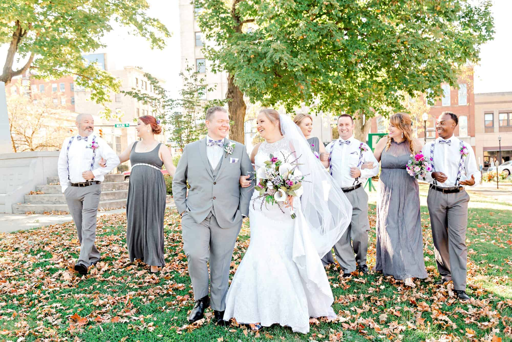 downtown mansfield ohio wedding