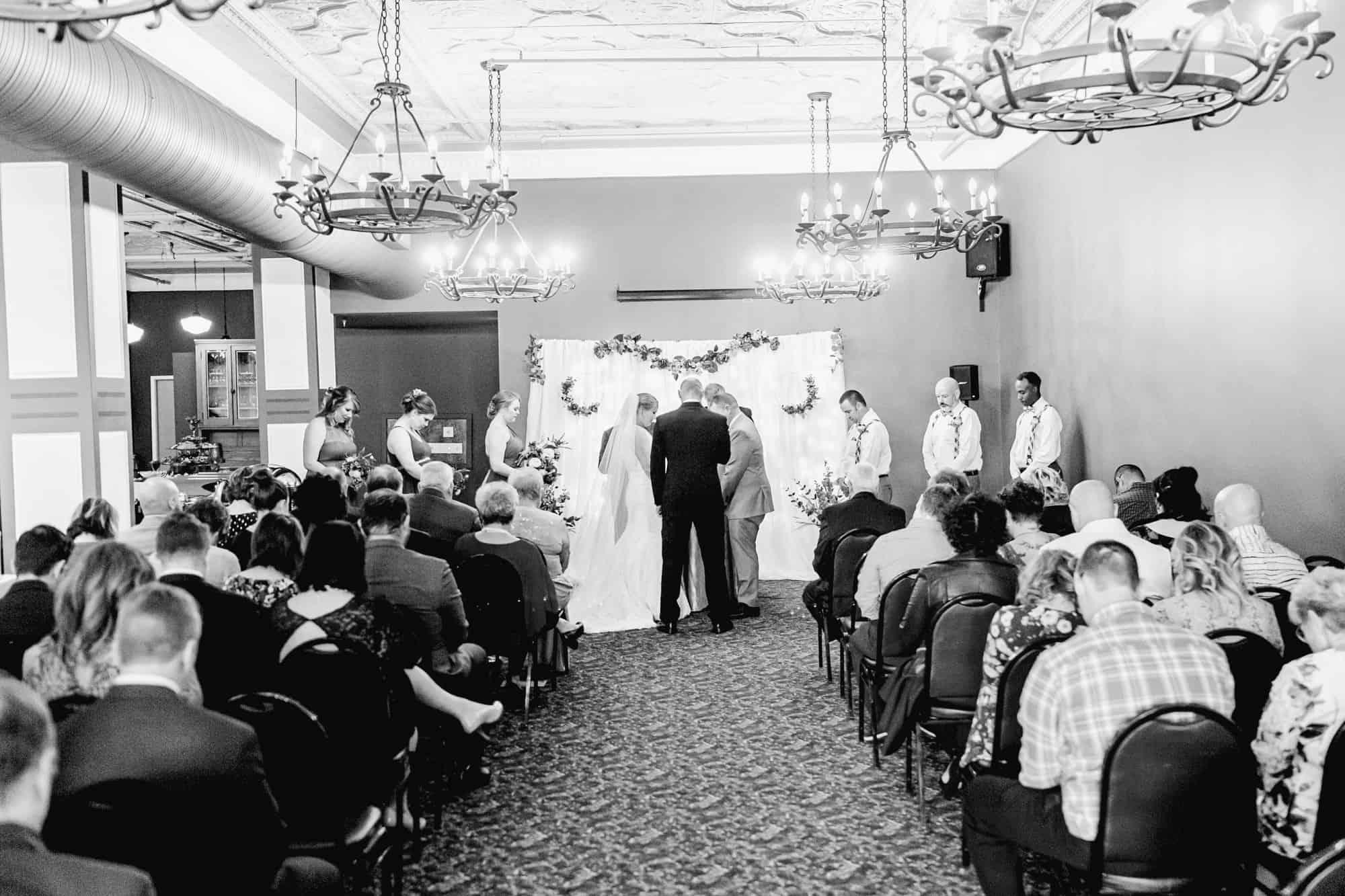 kobacker room downtown mansfield ohio wedding