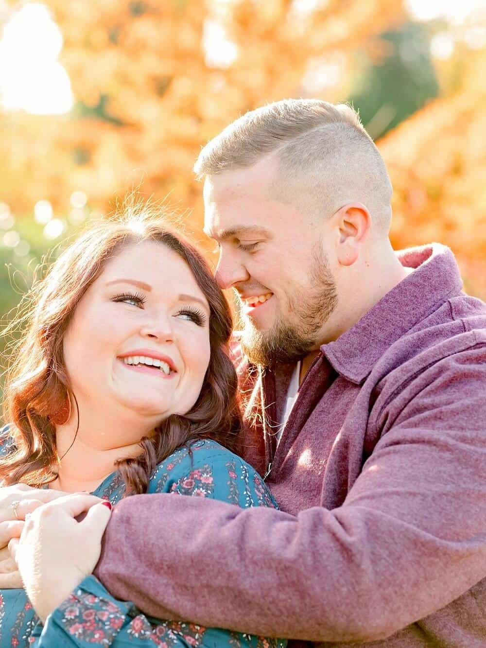 secrest arboretum engagement photos wooster