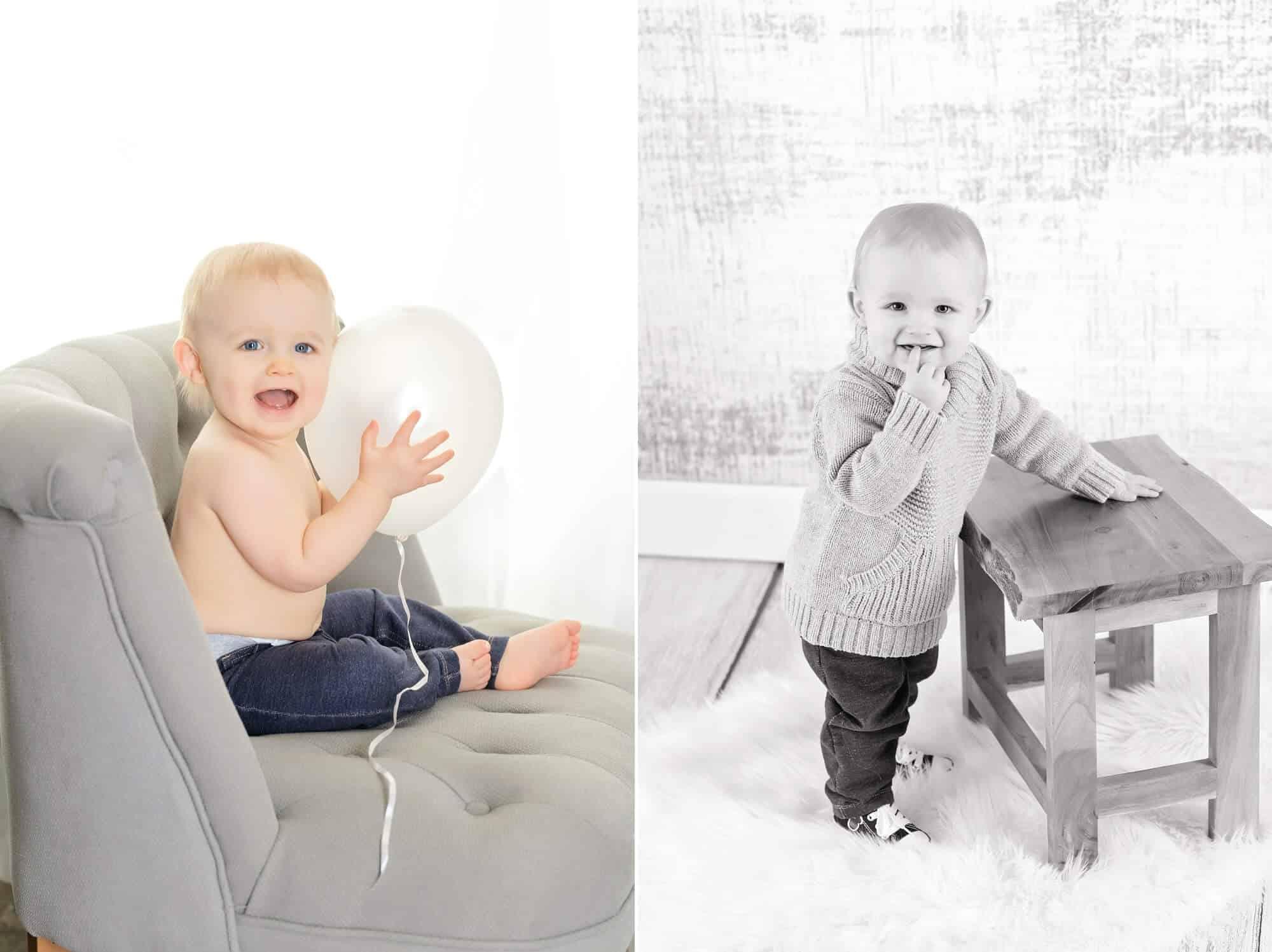 first birthday portraits ohio photographer