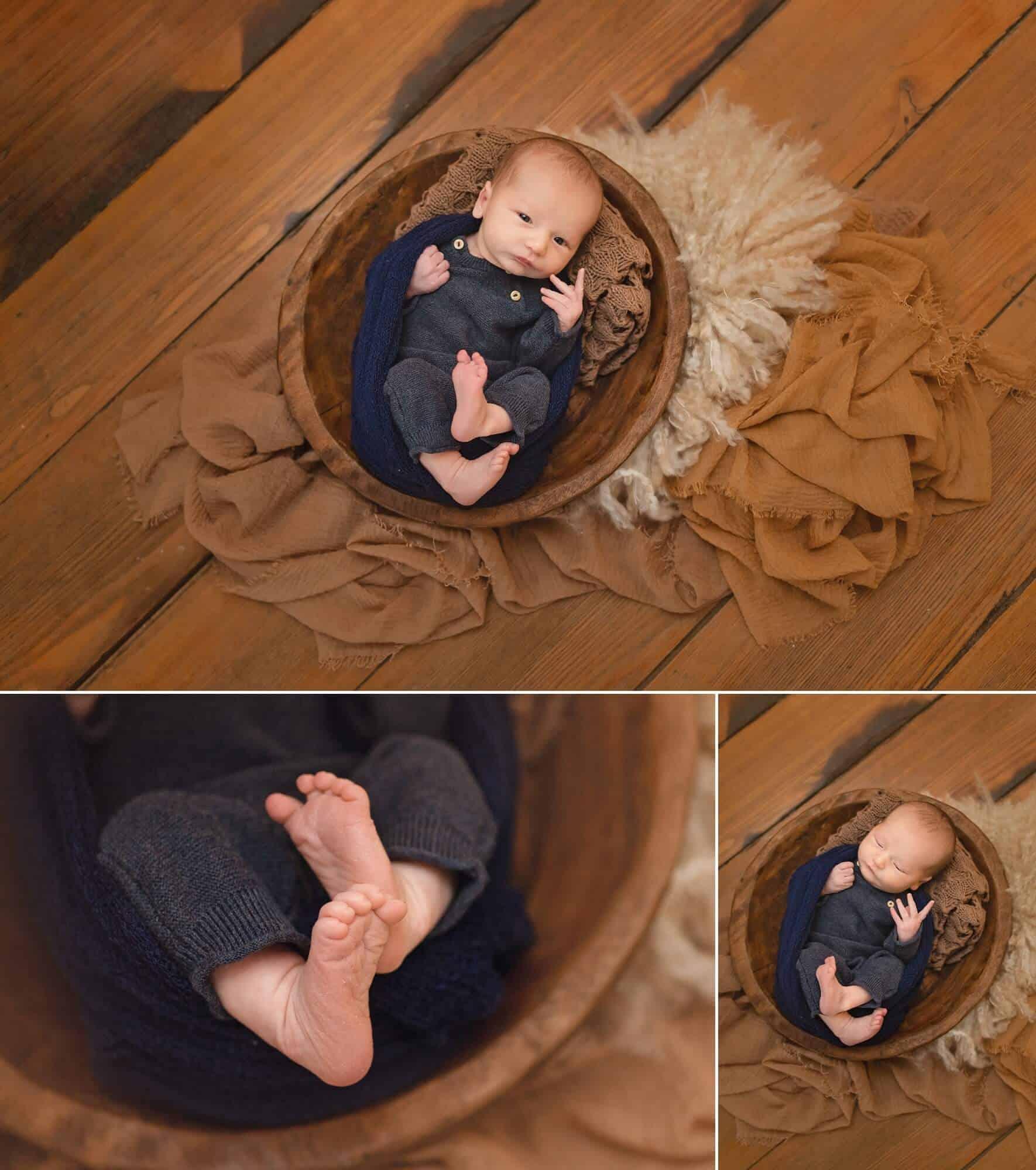 norwalk in-home newborn session tiffany murray