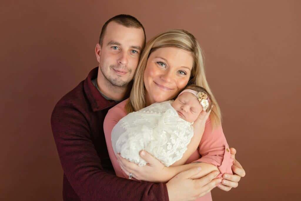 parent portraits mansfield newborn studio tiffany murray