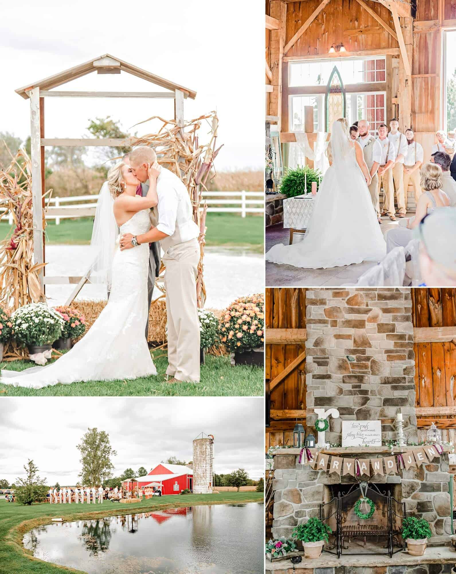rustic wedding venues north central o