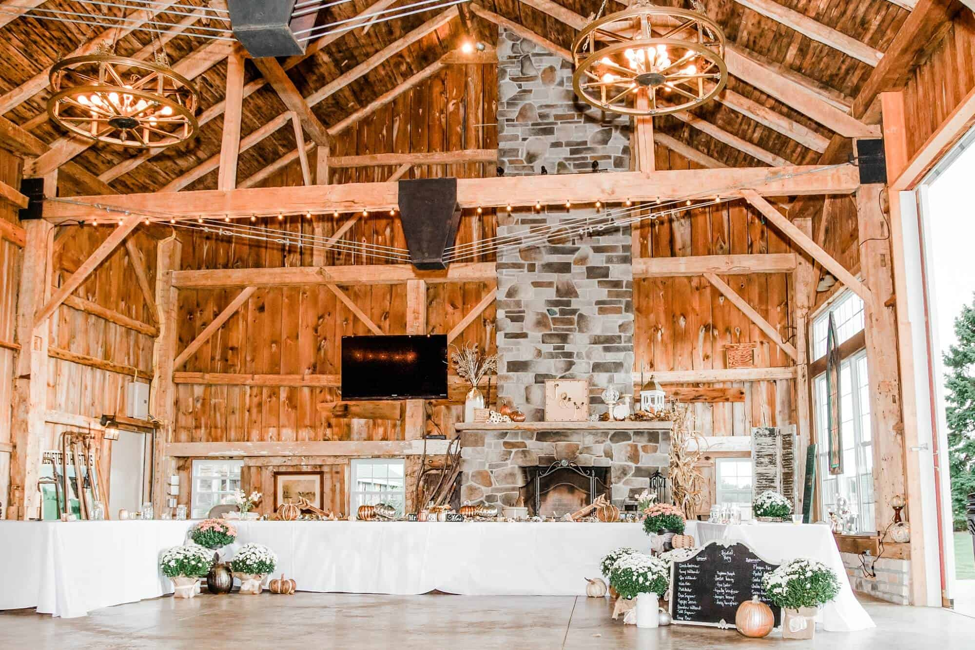 kilkerrin barn rustic wedding venue north central ohio