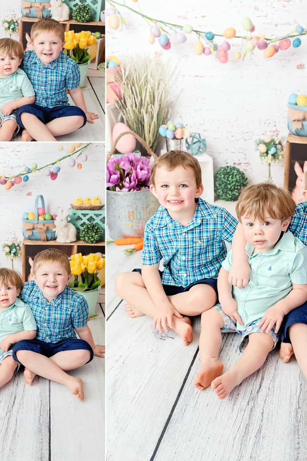 boys easter portraits mansfield child photographer