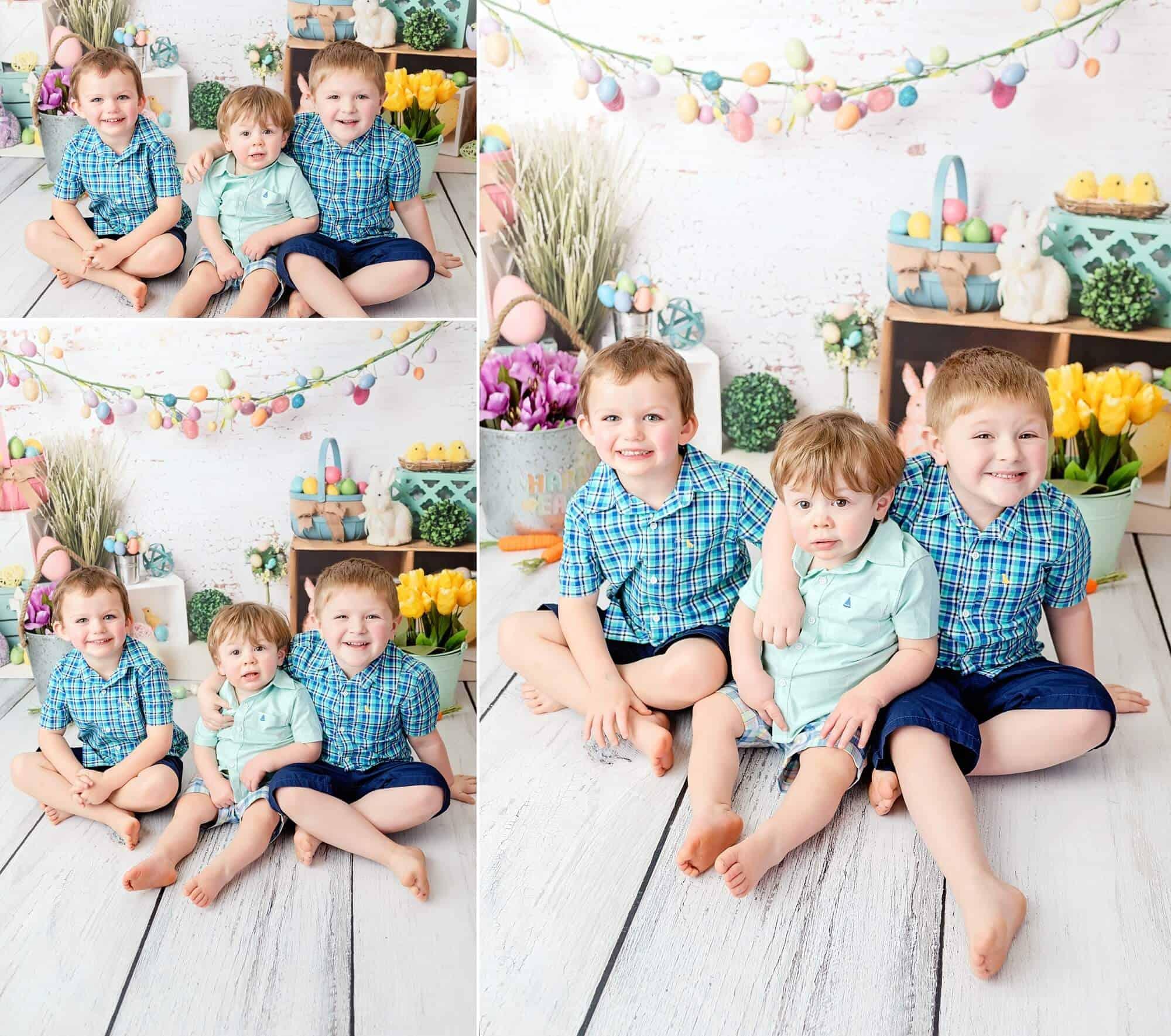 boys easter portraits mansfield child photographer