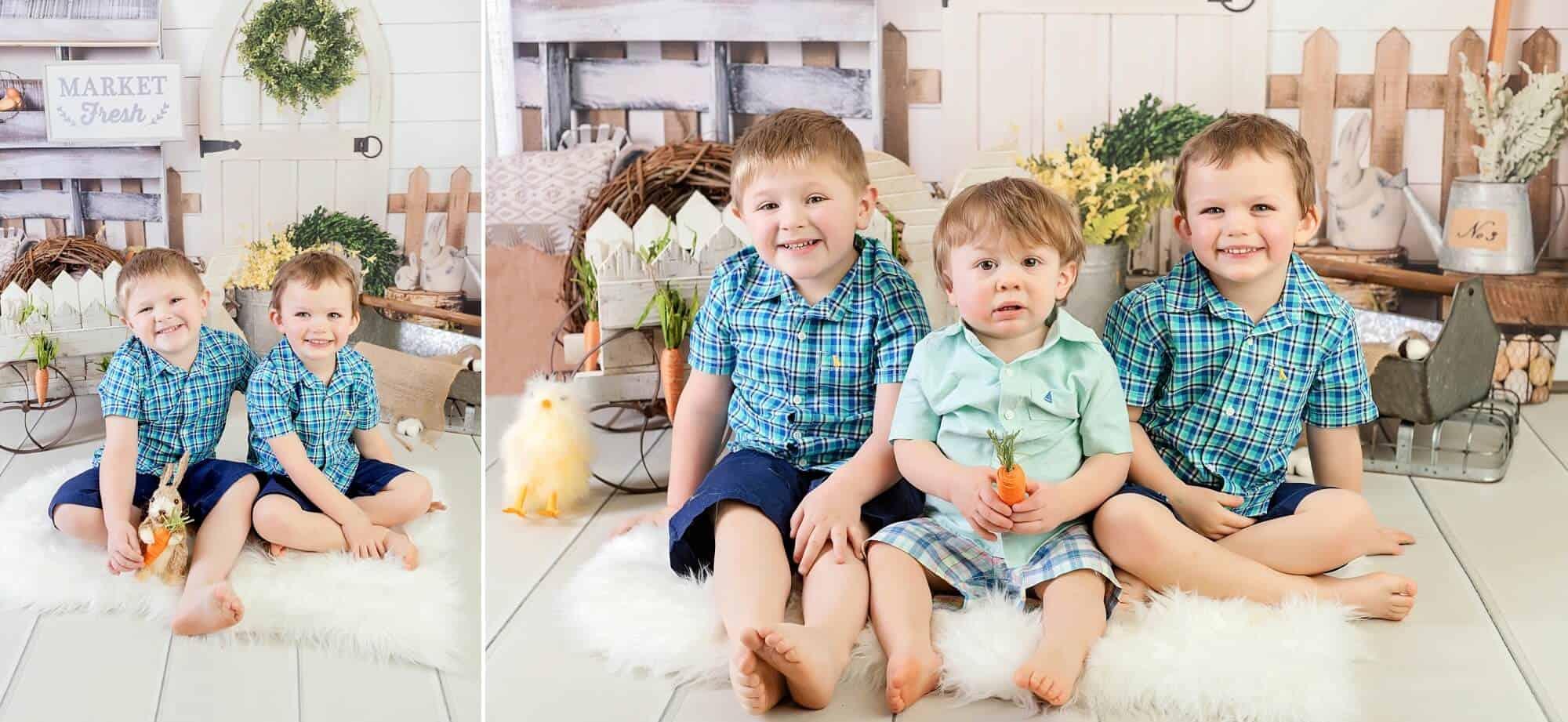 easter portraits mansfield ohio child photographer