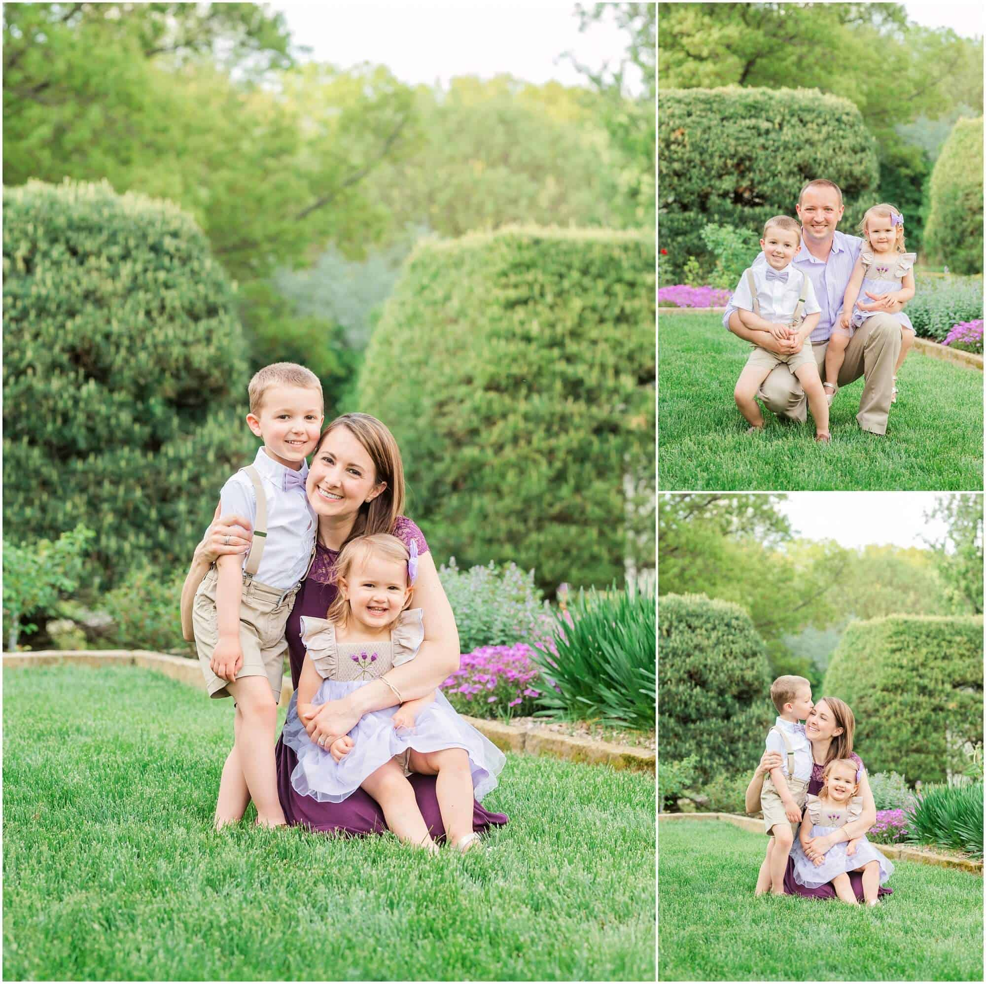 family photography at kingwood center mansfield ohio