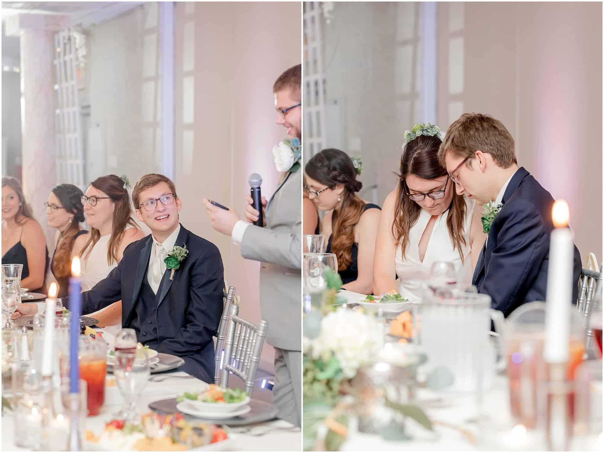 sandusky wedding reception at the colonnade by tiffany murray