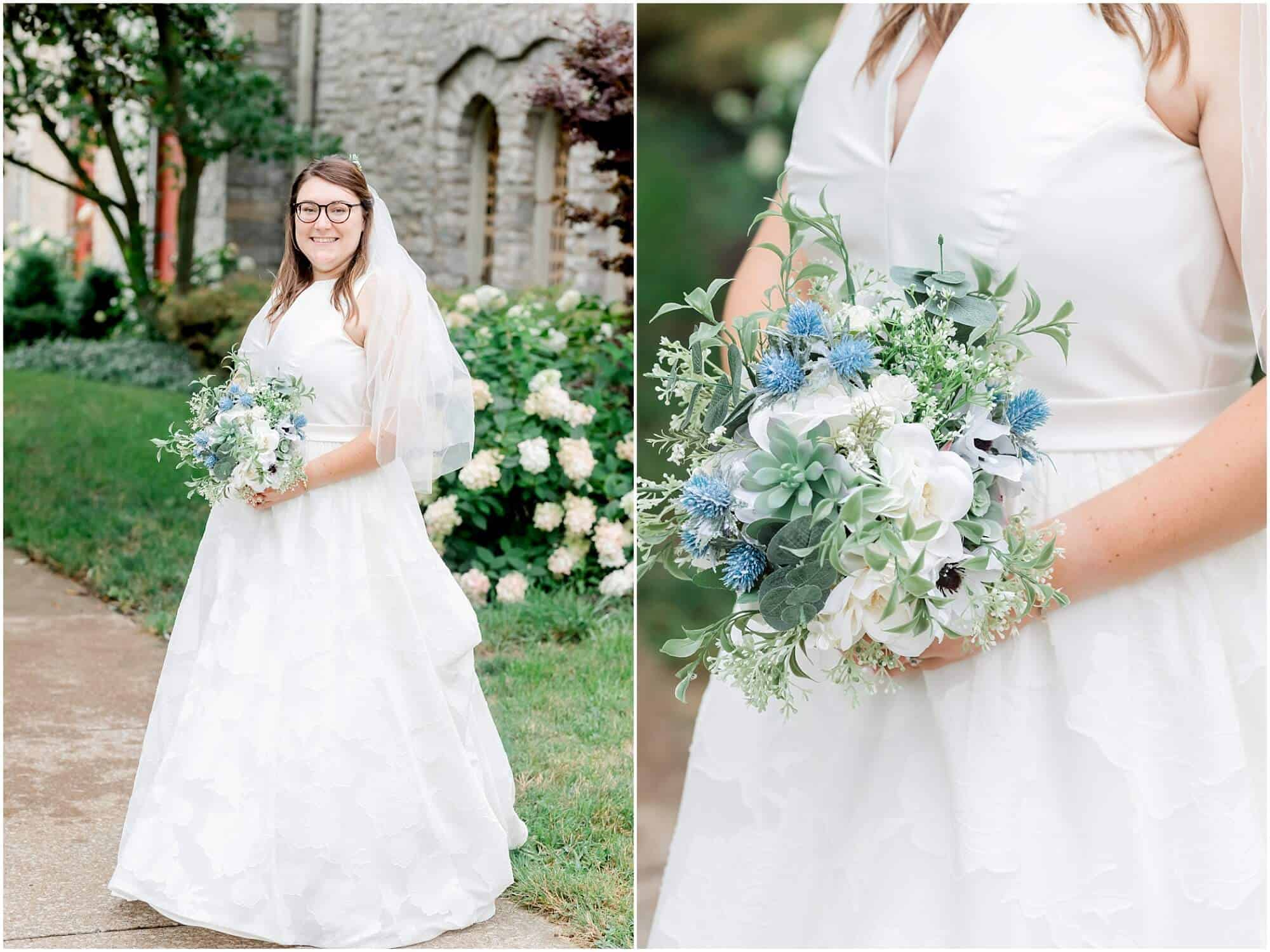 bride and her details by tiffany murray