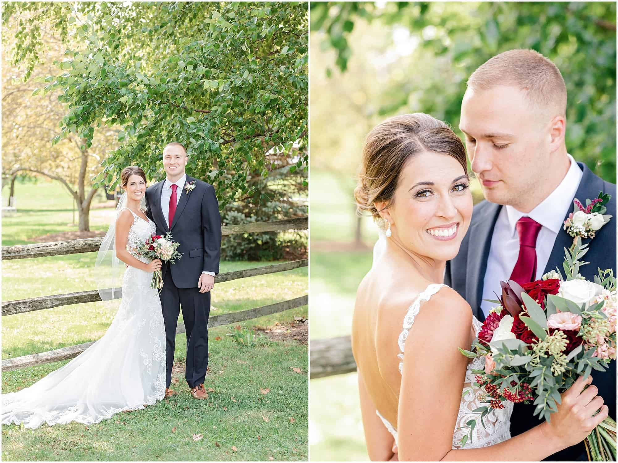 bride and groom portraits at millsite lodge by tiffany murray