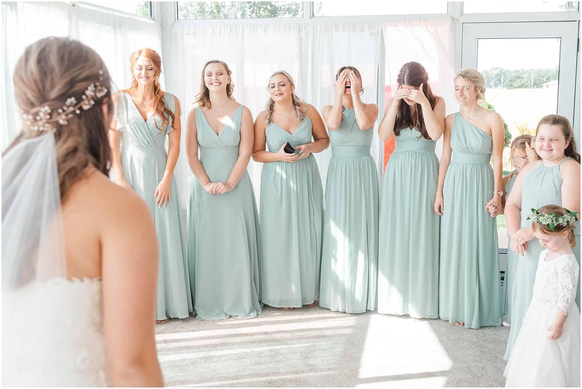 norwalk ohio wedding bridal gown reveal