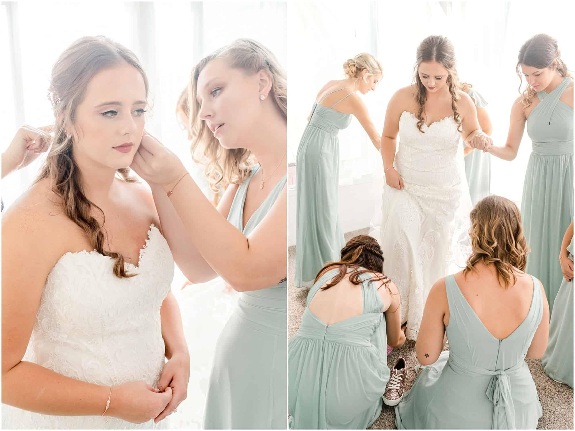 norwalk ohio wedding bridal prep