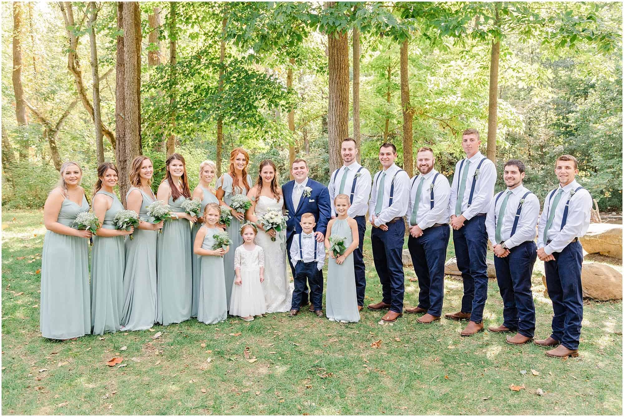 norwalk ohio wedding bridal party