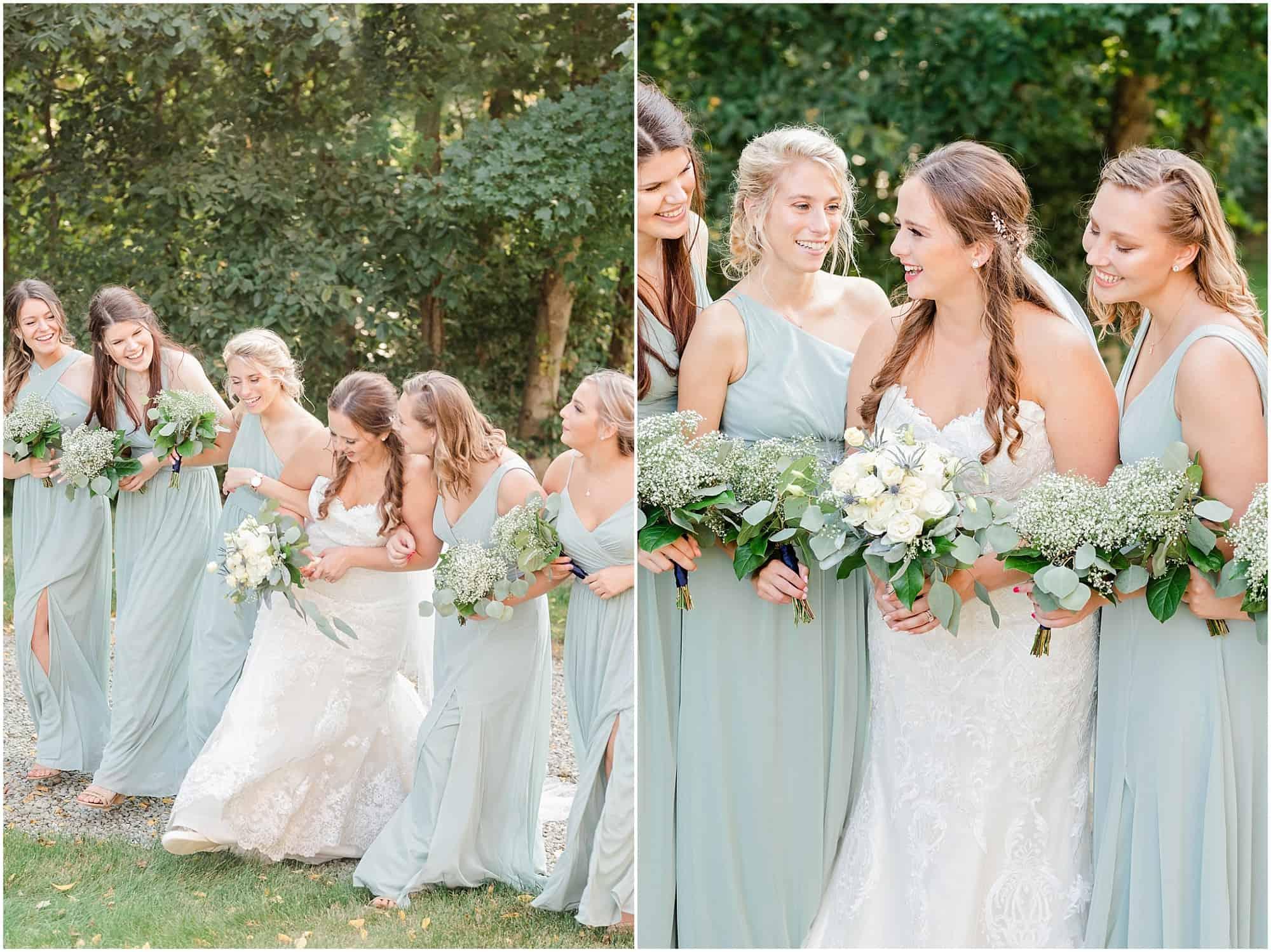norwalk ohio wedding bridesmaids
