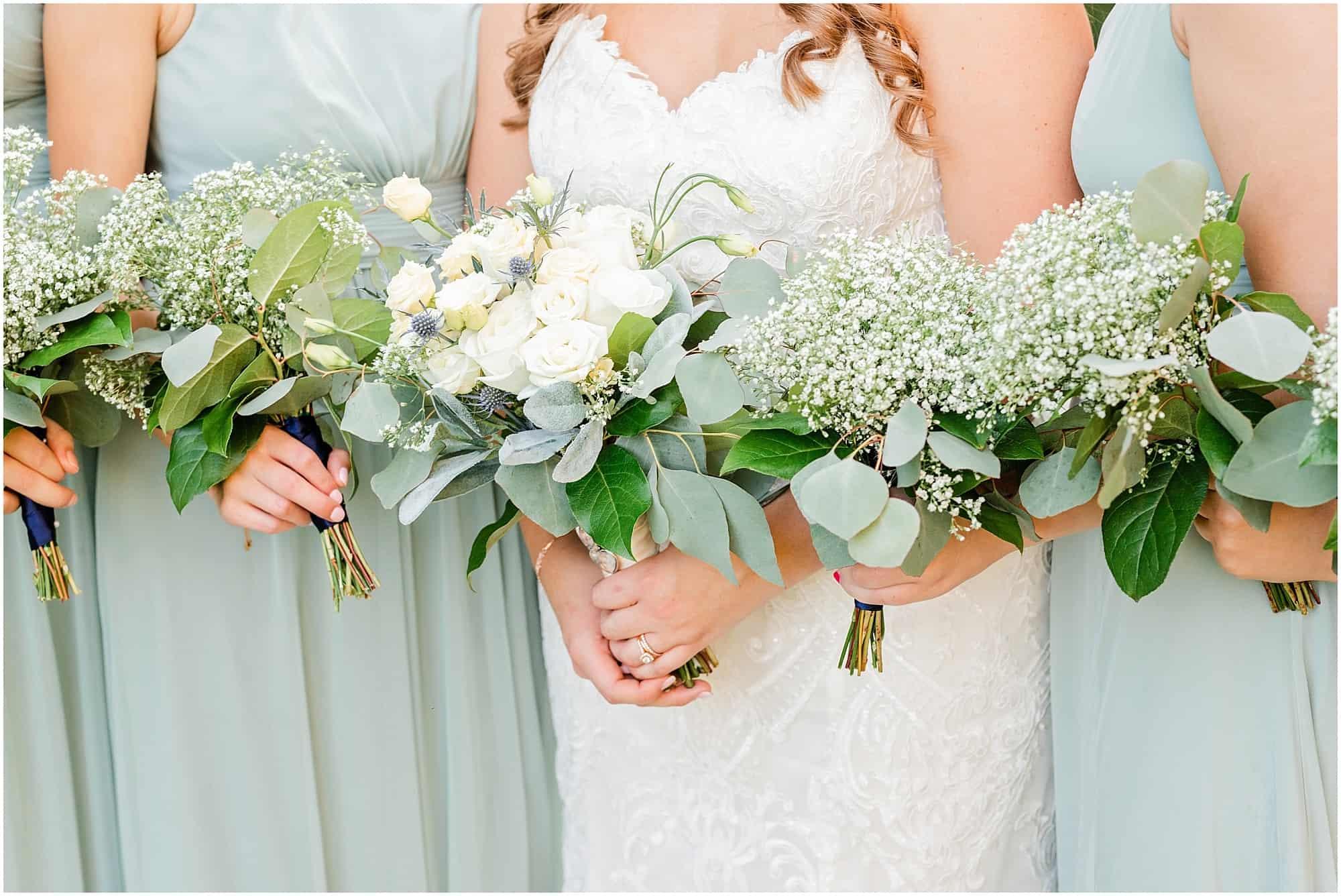 norwalk ohio wedding bouquet details