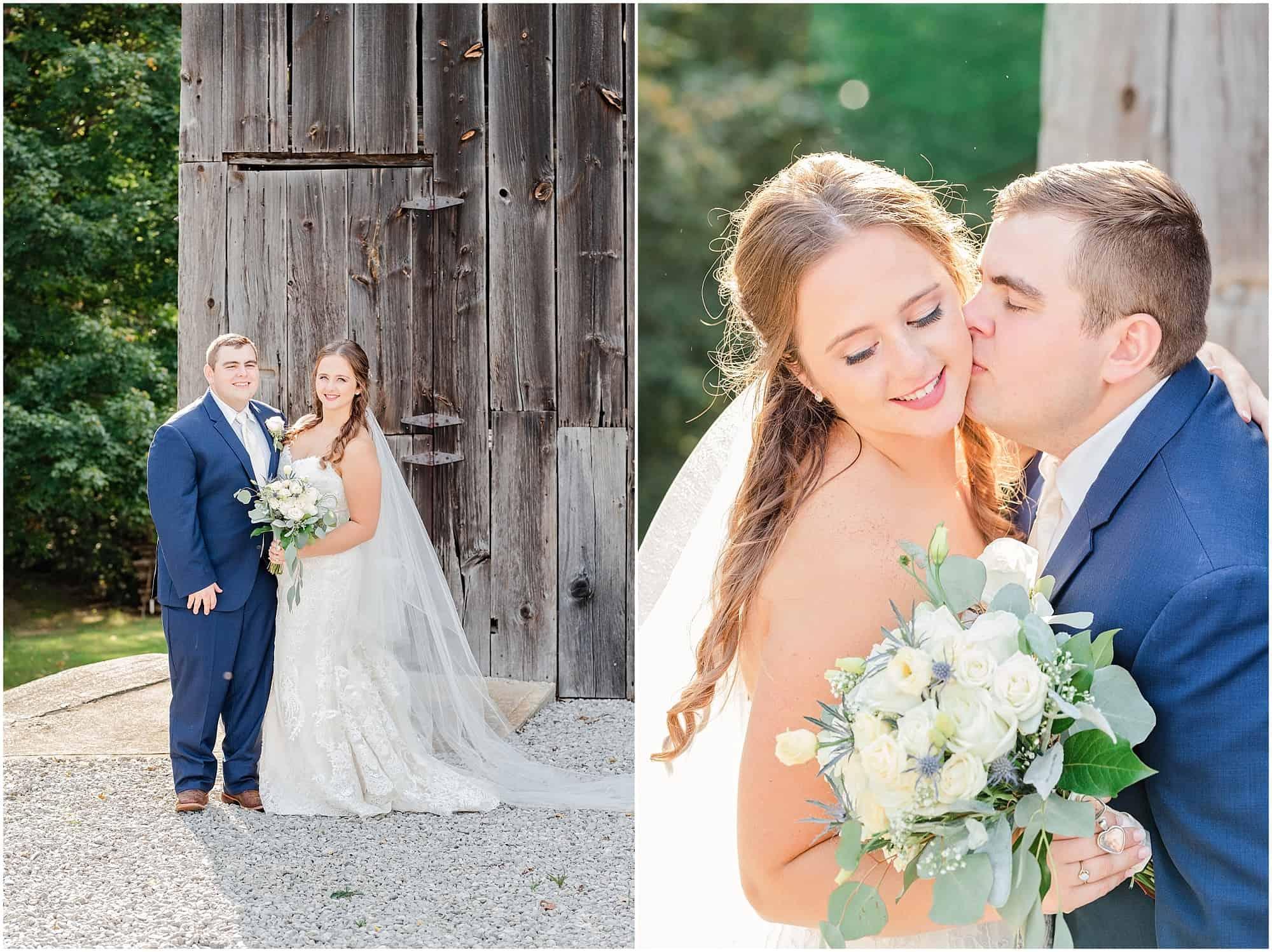 norwalk ohio wedding bridal portraits