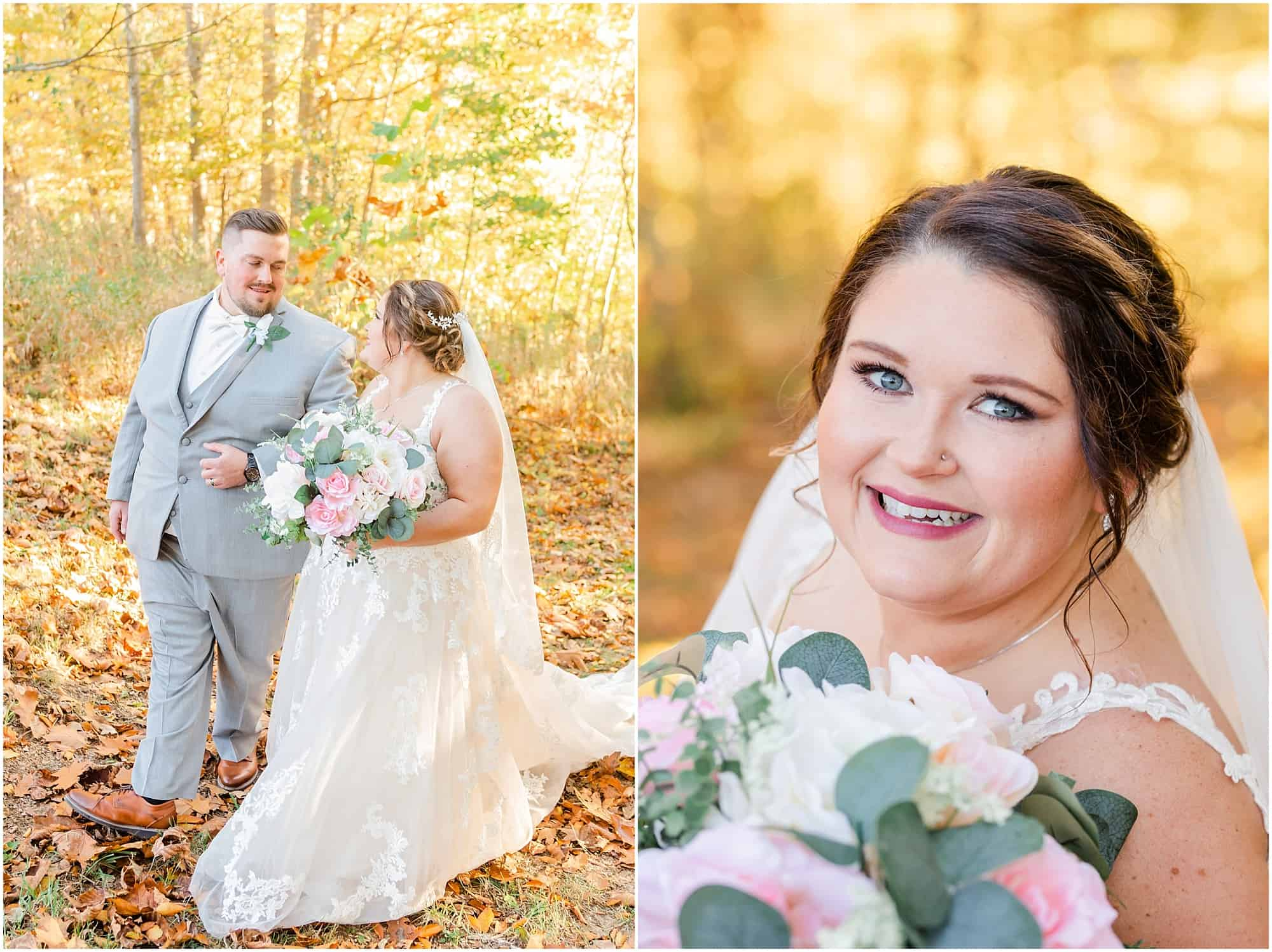 bridal portraits at willow haven