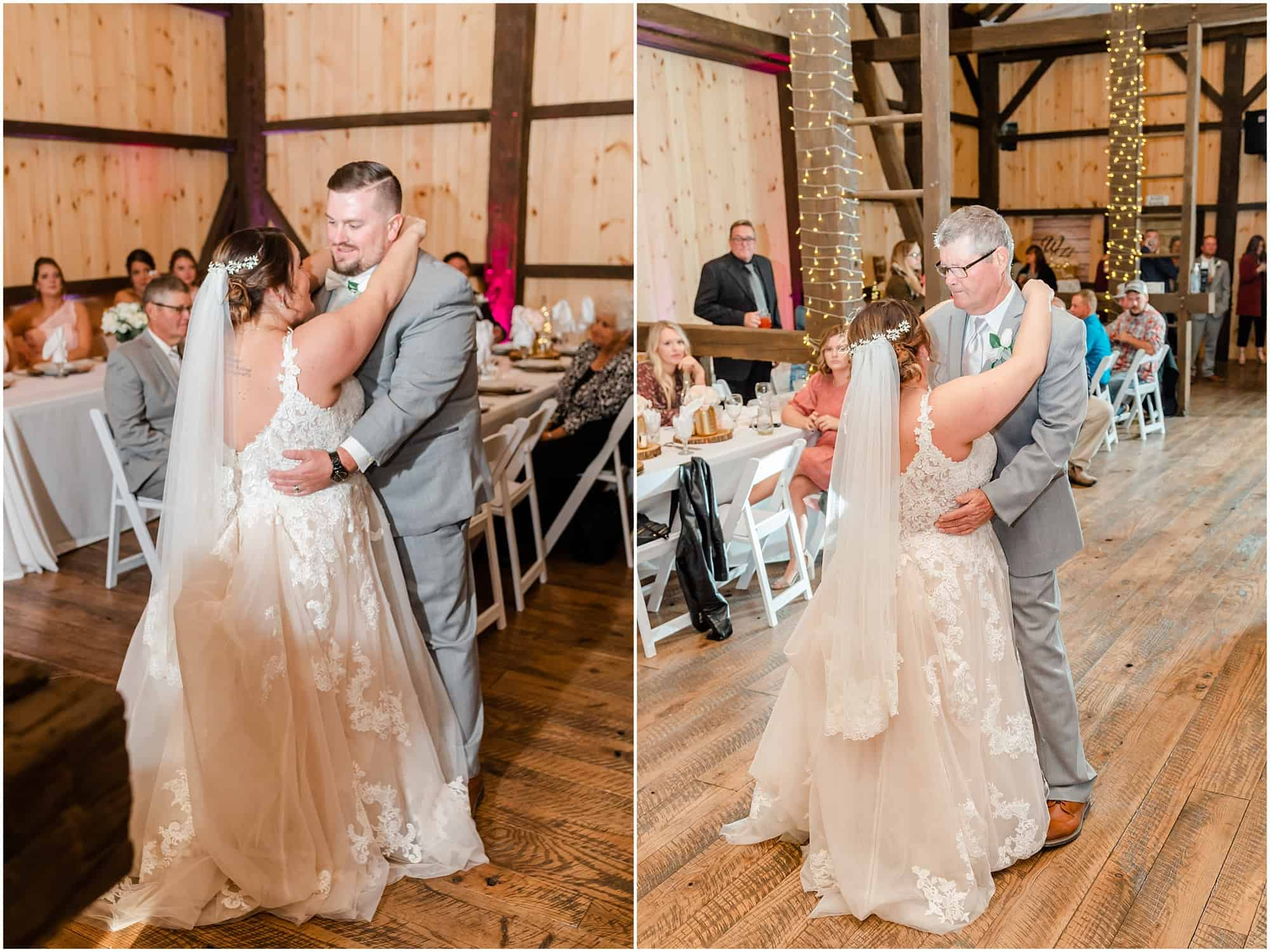 first dance at willow haven barn