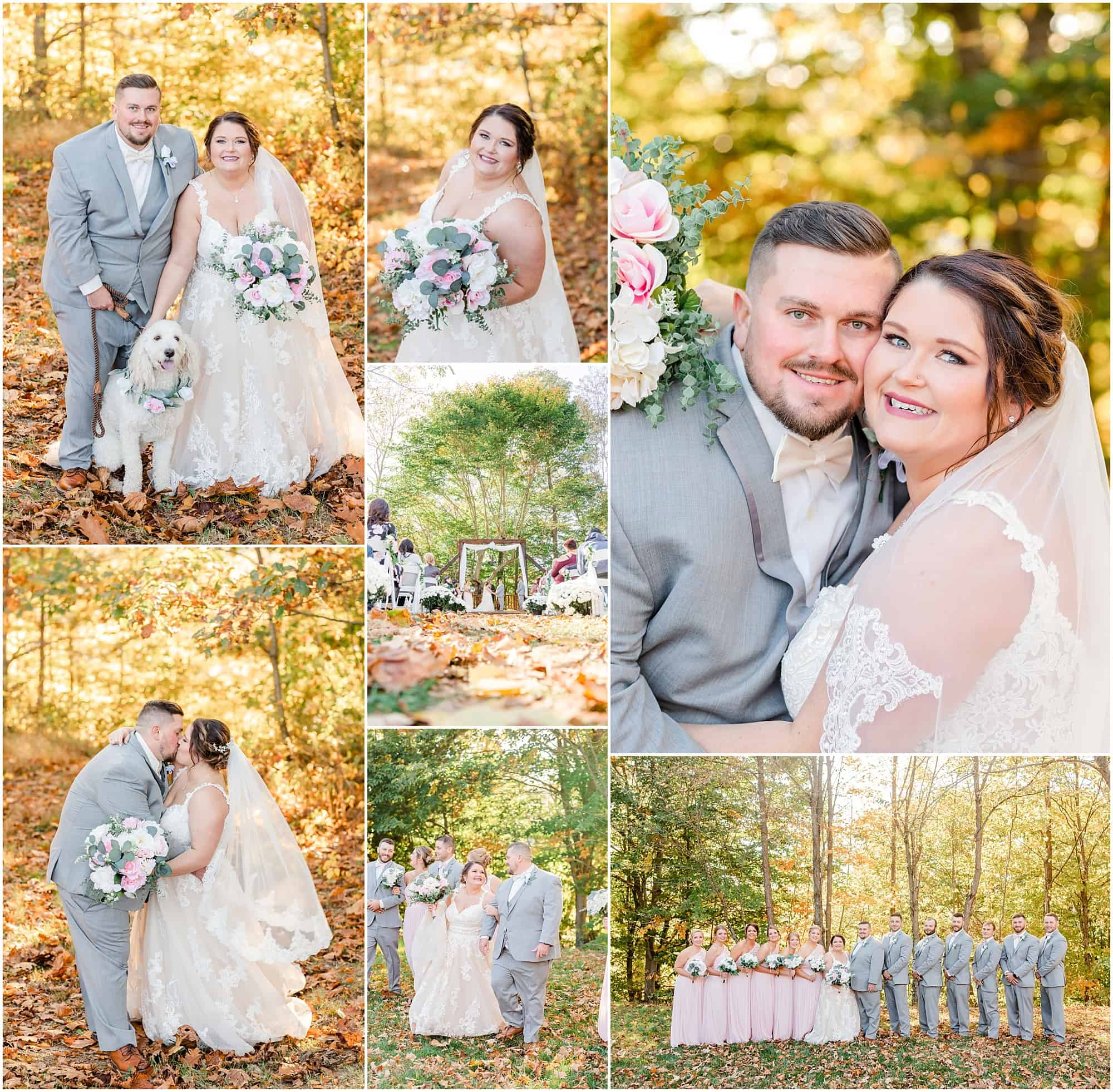 fall willow haven wedding