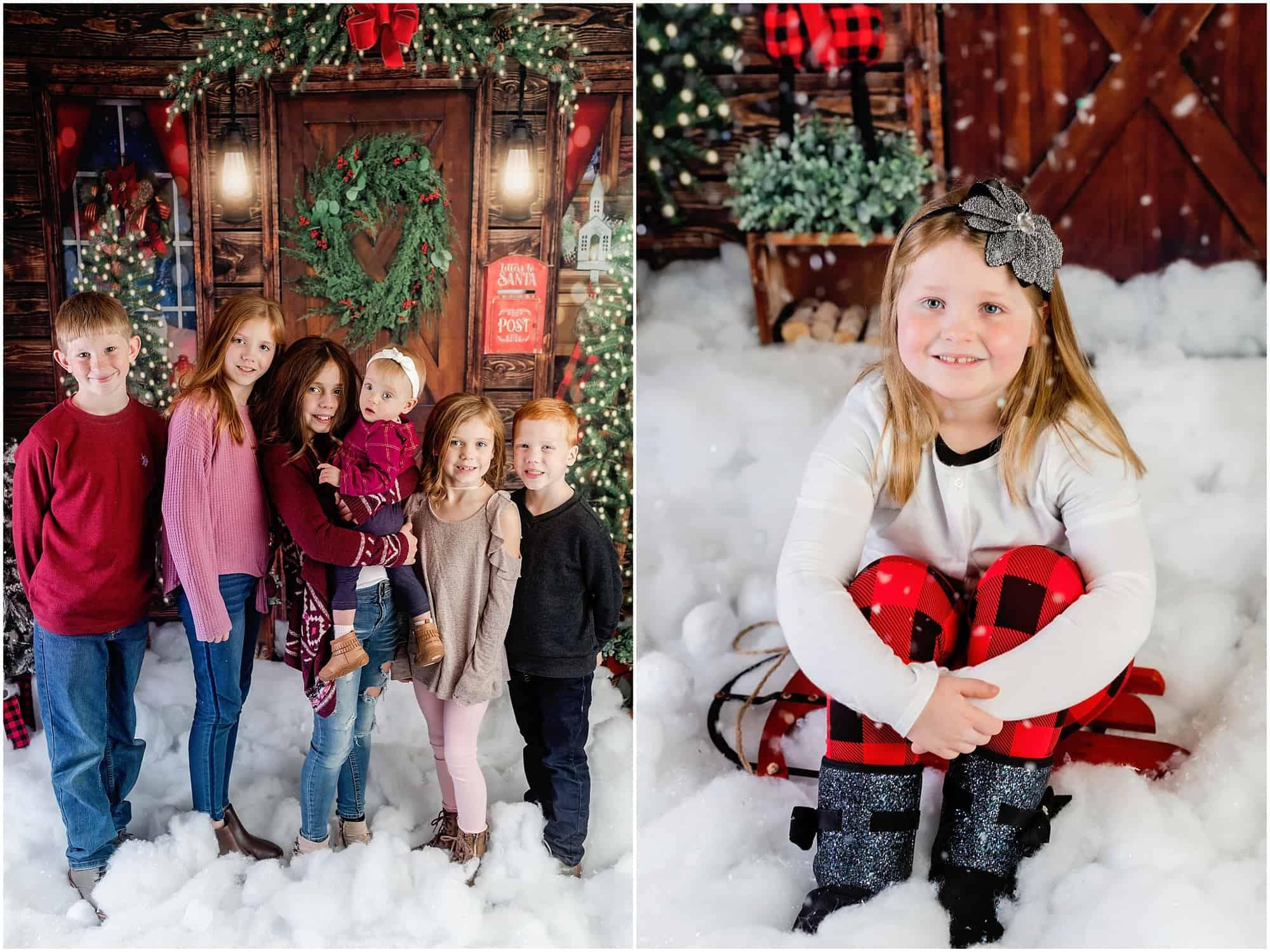 christmas portraits mansfield ohio