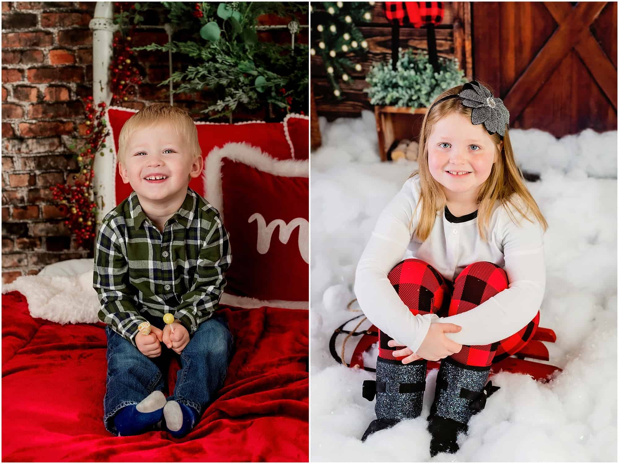 christmas photos mansfield ohio